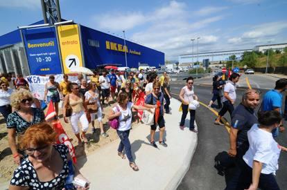 Ikea a roncadelle 270 dipendentiin sciopero anche marted for Costo seminterrato di sciopero