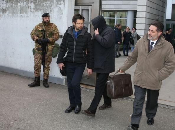 Claudio Tonoli, uno degli arrestati (Fotogramma/Bs)