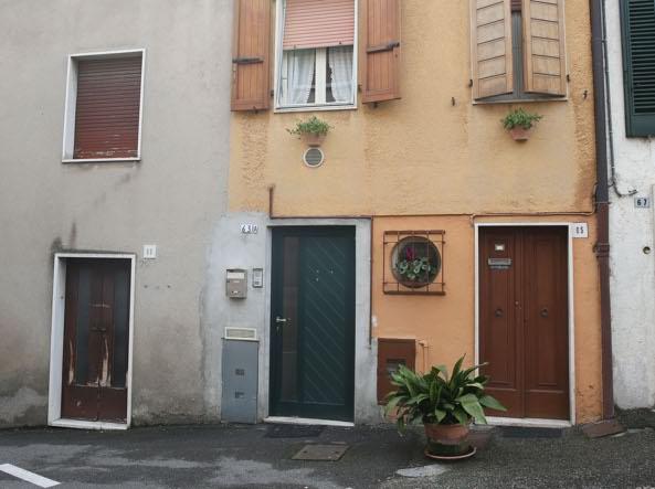 L'appartamento della vittima (Fotogramma/Bs)