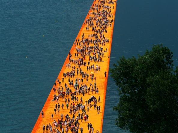 The Floating Piers: rincari per gli hotel del lago d'Iseo