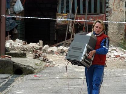 Gli effetti del terremoto di Sal� del 2004