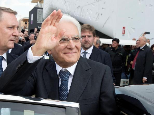 Il Presidente Mattarella in visita a Brescia