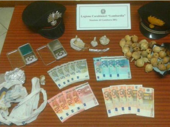 Madre e figlio presi dai carabinieri con 85 grammi di for Questura di brescia permesso di soggiorno online