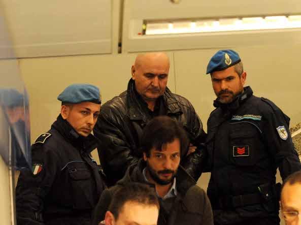 Il comandante Paraga arriva a Milano Linate  (Foto/Cavicchi)