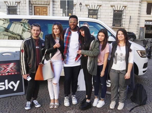 Giovani ai provini di X-Factor (Campanelli/Lapresse)
