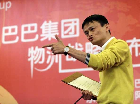 Jack Ma, numero uno del colosso Alibaba (Reuters)