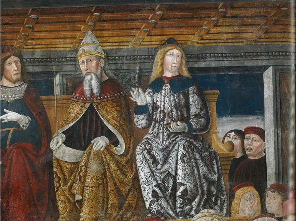 Gli affreschi del Salone da Cemmo