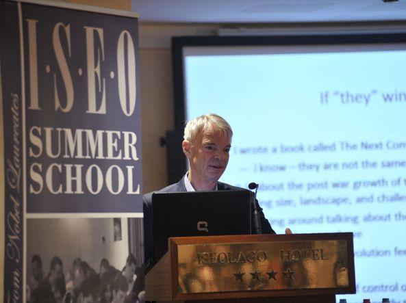 Il premio Nobel Michal Spence alla Summer School