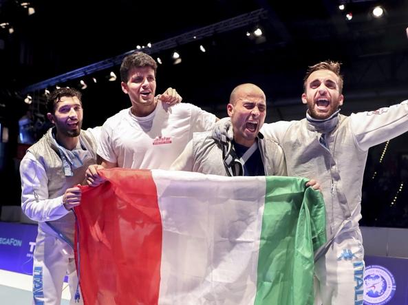 Mondiali di scherma, bronzo per il fiorettista Daniele Garozzo