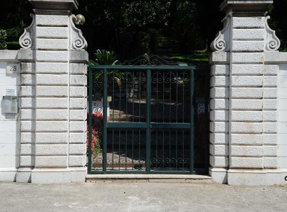La casa di Bettoni (Campanelli - Lapresse)