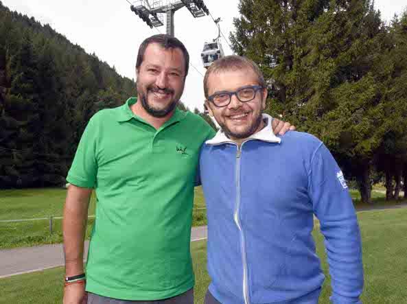 Salvini e Rolfi (Cavicchi/Lapresse)