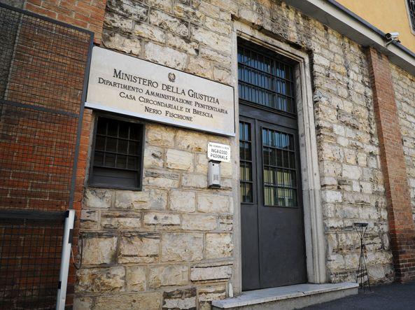 Il carcere di Canton Mombello (Campanelli/Lapresse)