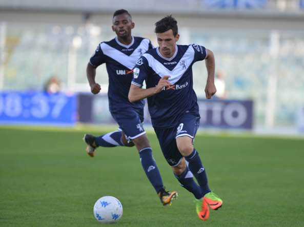 Furlan in azione contro il Pescara (LaPresse)