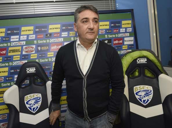 Calcio Brescia, Cellino esonera Marino e richiama Boscaglia